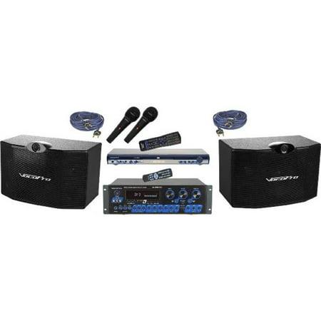 Vocopro KTV3808II Ktv Digital Karaoke Mixing Amplifier With Speaker Package