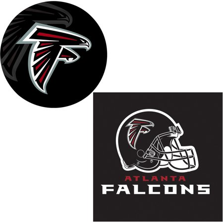 Atlanta Falcons Football Table Decoration 24pc Party Pack, Red Black](Football Decoration Ideas)