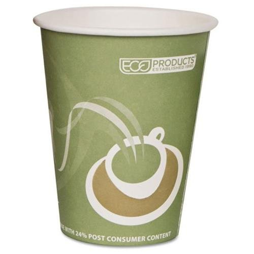 Eco-products Evolution World Pcf Hot Cups - 8 Oz - 50/pack - Assorted (epbrhc8ewpk)
