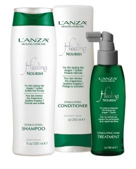 Lanza Healing Haircare - Nourish Anagen 7 System 3 Step Starter Kit ( #1 - 3 Step Starter kit   5.1 oz Shampoo - 5.1 oz Conditioner - 2 oz Treatment)