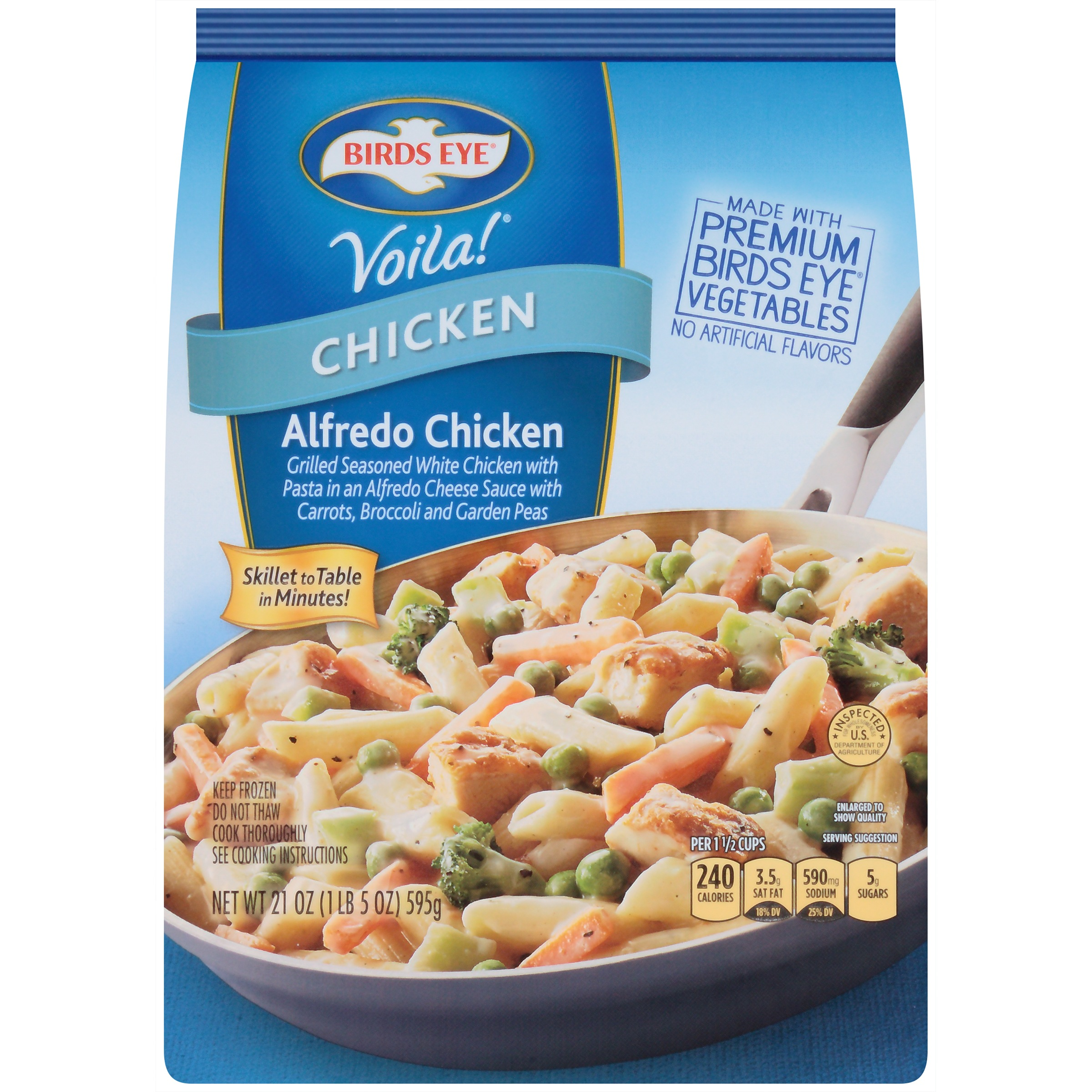 Birds Eye® Voila!® Alfredo Chicken 21 oz. Bag