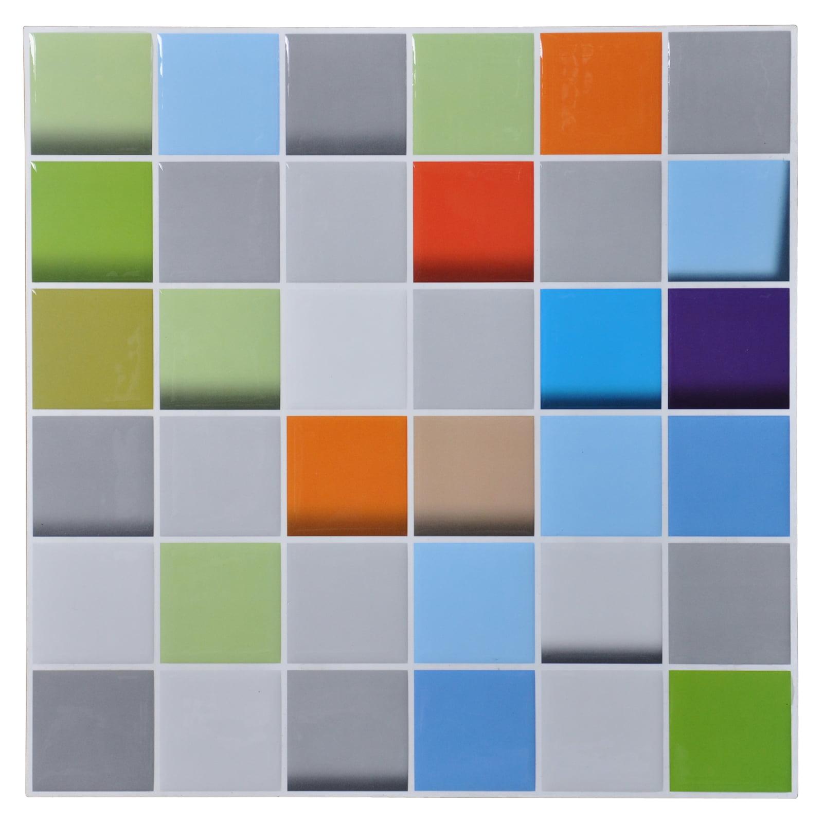 """12""""x12"""" Peel and Stick Tile for Kitchen Backsplash(6 Tiles)"""