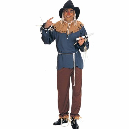 The Wizard of Oz Scarecrow Adult Halloween - Wizard Of Oz Running Costumes