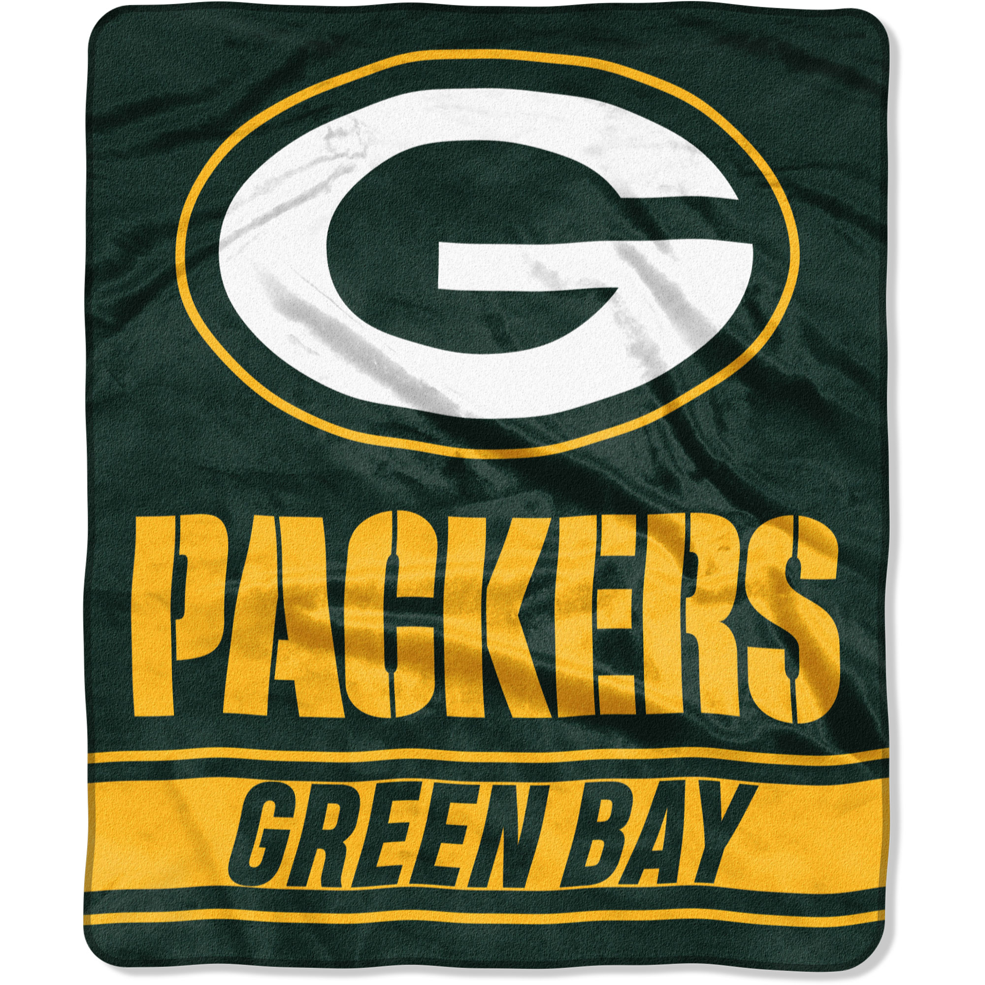 """Green Bay Packers The Northwest Company 50"""" x 60"""" Stabilize Raschel Plush Throw Blanket - No Size"""