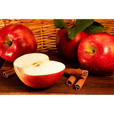 APPLE CINNAMON TYPE FRAGRANCE OIL - 4 OZ - FOR SOAP AND CANDLE MAKING BY  FRAGRANCEBUDDY - FREE SandH IN USA