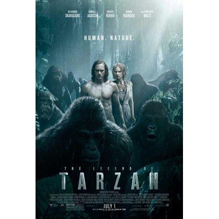 The Legend Of Tarzan  2016  27X40 Movie Poster