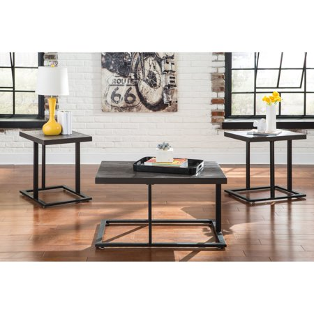 Signature Design By Ashley Airdon Piece Coffee Table Set Walmartcom - Ashley signature coffee table set