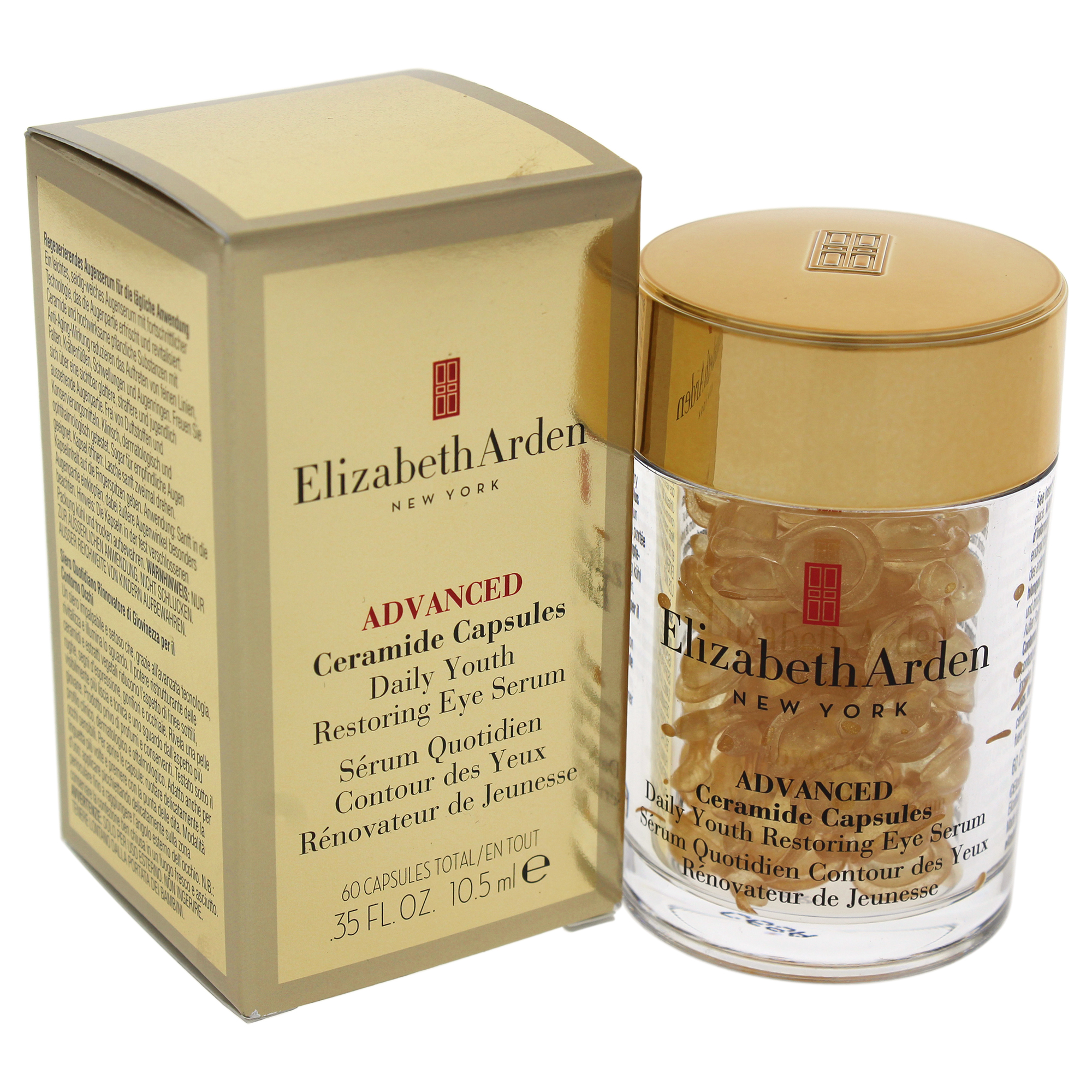 4 Pack - Elizabeth Arden Ceramide Daily Youth Restoring Eye Serum Capsules 60 ea Anself Silicone Rechargeable Electric Face Brush Mini Ultrasonic Beauty Instrument Super Facial Cleaner Skin Tool