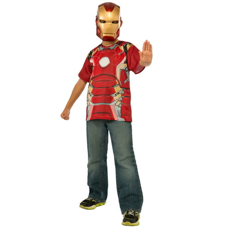 Avengers 2 Iron Man Child T-Shirt Costume](Iron Man Child Costume)
