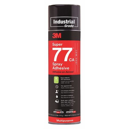 3M Spray Adhesive,Foam and Fabric,13.5 oz. 24