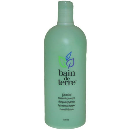 Jasmine Moisturizing Shampoo by Bain de Terre for Unisex, 33.8 oz