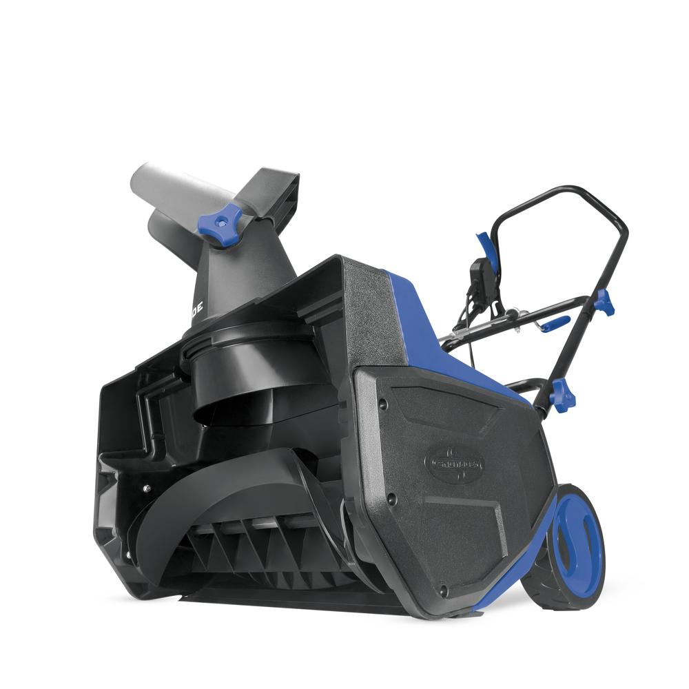 Snow Joe SJ617E Electric Single Stage Snow Thrower | 18-Inch � 12 Amp Motor by Snow Joe LLC