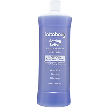 LOTTABODY Professional Concentrated Formula Setting Lotion 32 (Best Setting Lotion For Fine Hair)