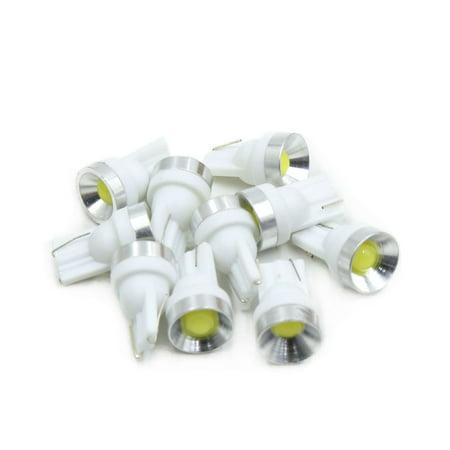 10Pc T10 LED Blanc Voiture Tableau Bord pan Int Lampe W5W 168 192 194 - image 3 de 3
