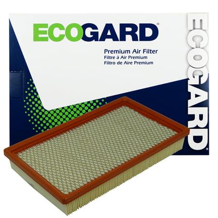 ECOGARD XA5043 Premium Engine Air Filter Fits Ford E-350 Super Duty, E-350 Econoline, E-350 Econoline Club Wagon, E-350 Club Wagon, E-450 Econoline Super Duty, E-450 Super Duty