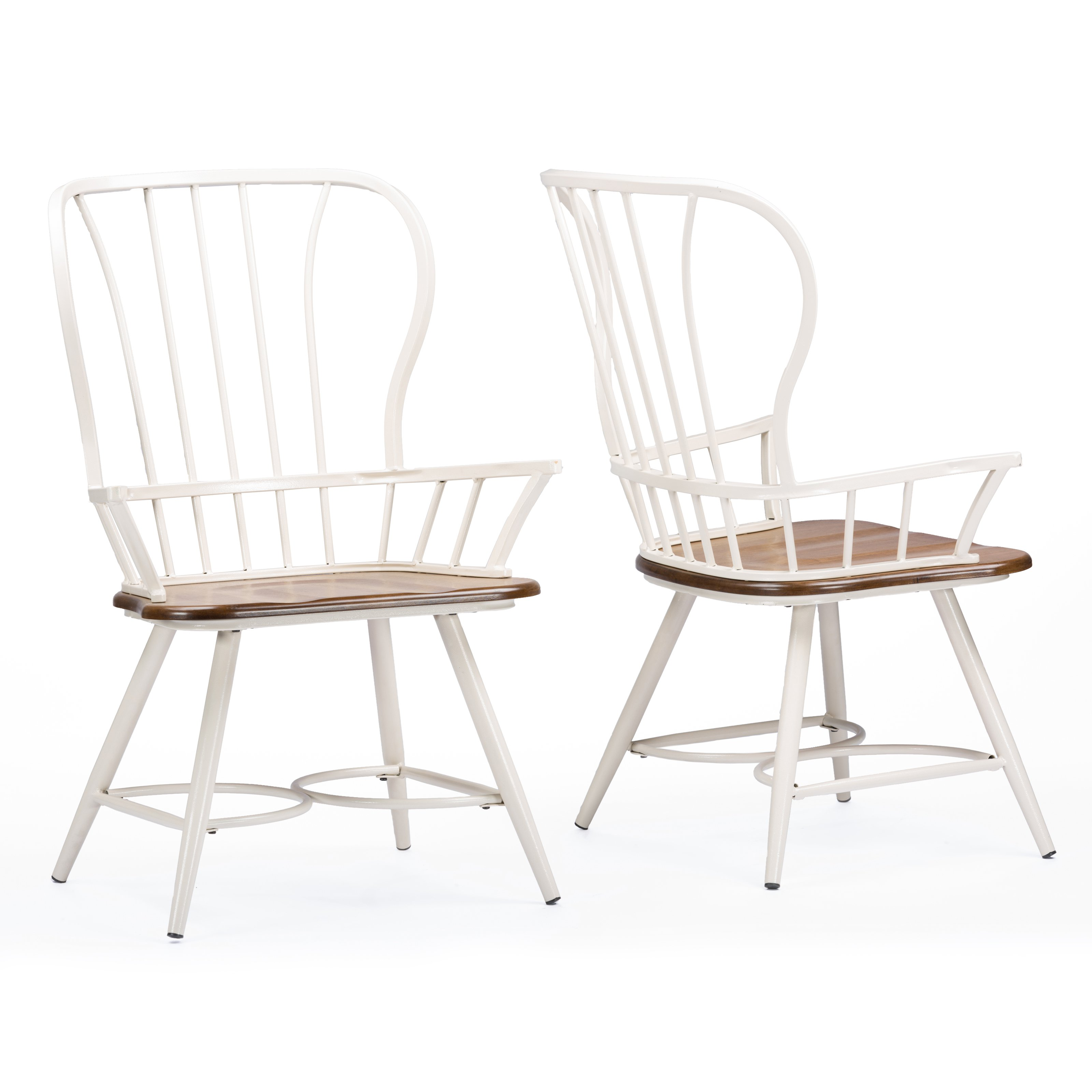 Baxton Studio Longford Dining Armchair Set of 2 by Wholesale Interiors