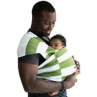 Baby K'tan PRINT Baby Carrier in Olive Stripe