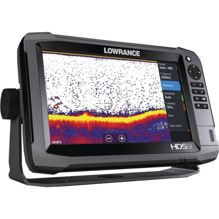 Lowrance HDS-9 Gen3 Touchscreen Fishfinder/Chartplotter with Built-in CHIRP and Structure Scan HD/Insight USA 50/200 kHZ Transducer