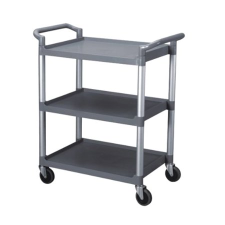 Bus Cart 3 Tier Gray