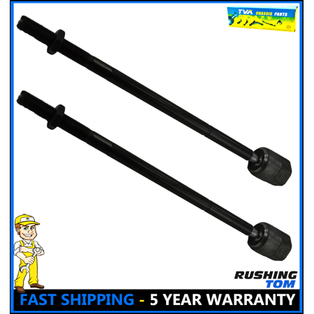 New Set Of 2 Heavy Duty EV315 Steering Suspension Tie Rod Rack End Front Inner Duty Tie Rod End