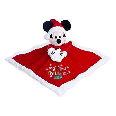 Mickey Mouse My First Christmas Plush Blankie For Baby By Disney