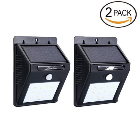 Solar LED Lights Solar Sensor Motion Light 12 LED Outdoor Lamp Waterproof 2