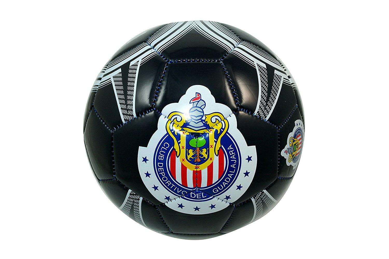 RHINOXGROUP Chivas De Guadalajara Authentic Official Licensed Soccer Ball Size 5-001