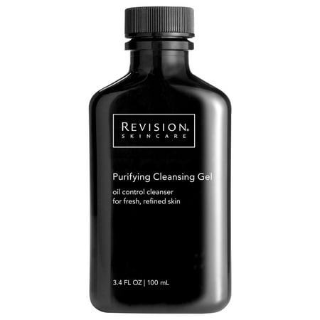($27 Value) Revision Skincare Cleansing Gel Facial Cleanser for Oily Skin, 3.4 oz
