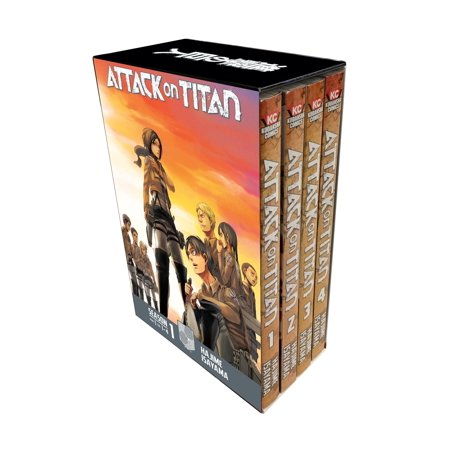(Attack on Titan Season 1 Part 1 Manga Box Set)