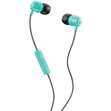 Skullcandy S2DUY-L675 JIB In-Ear Earbuds With Microphone (Black/Miami Blue)](Skull Candy Costumes)