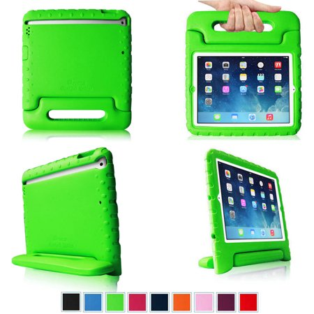 Fintie Ipad Air Kiddie Case   Lightweight Shockproof With Convertible Handle Stand Kids Friendly Cover  Green