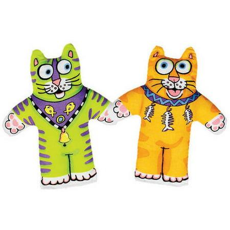 (3 Pack) Fat Cat Classic Kitten Little Plush Cat (Best Toys For Kittens)