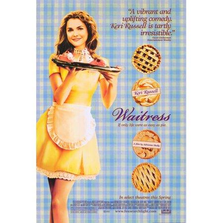 Waitress Poster Movie  27X40