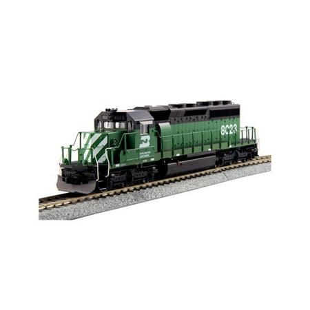 - Kato 376605LS HO Burlington Northern SD40-2 Locomotive with DCC #8023