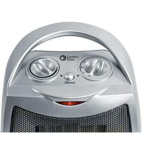 Comfort Zone Cz449 Oscillating Ceramic Heater