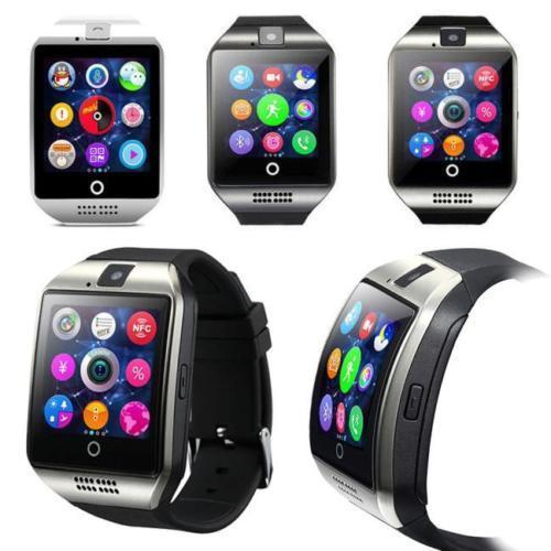 smart iphone watch tagital t18 curved screen bluetooth smart wrist 1588
