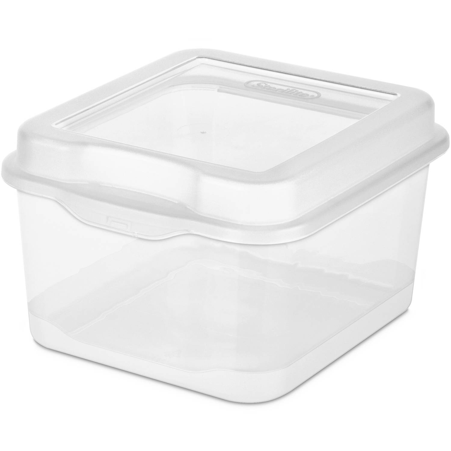 Sterilite 27 Qt./26 L Latch Box, Stadium Blue   Walmart.com