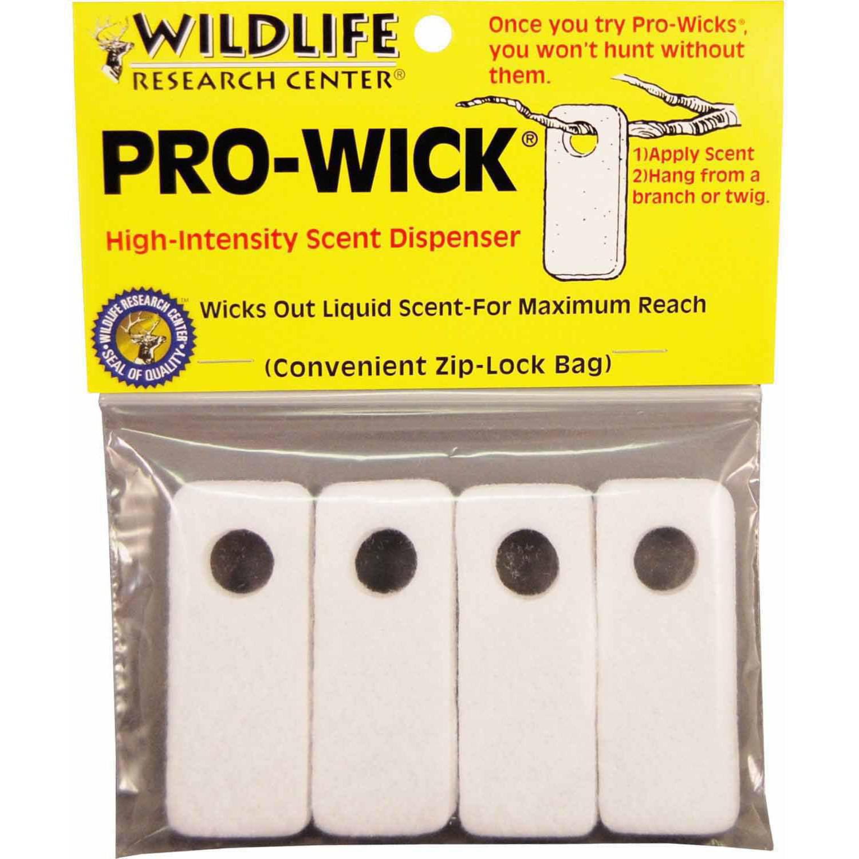 Wildlife Research Pro-Wick Scent Dispenser, 4pk