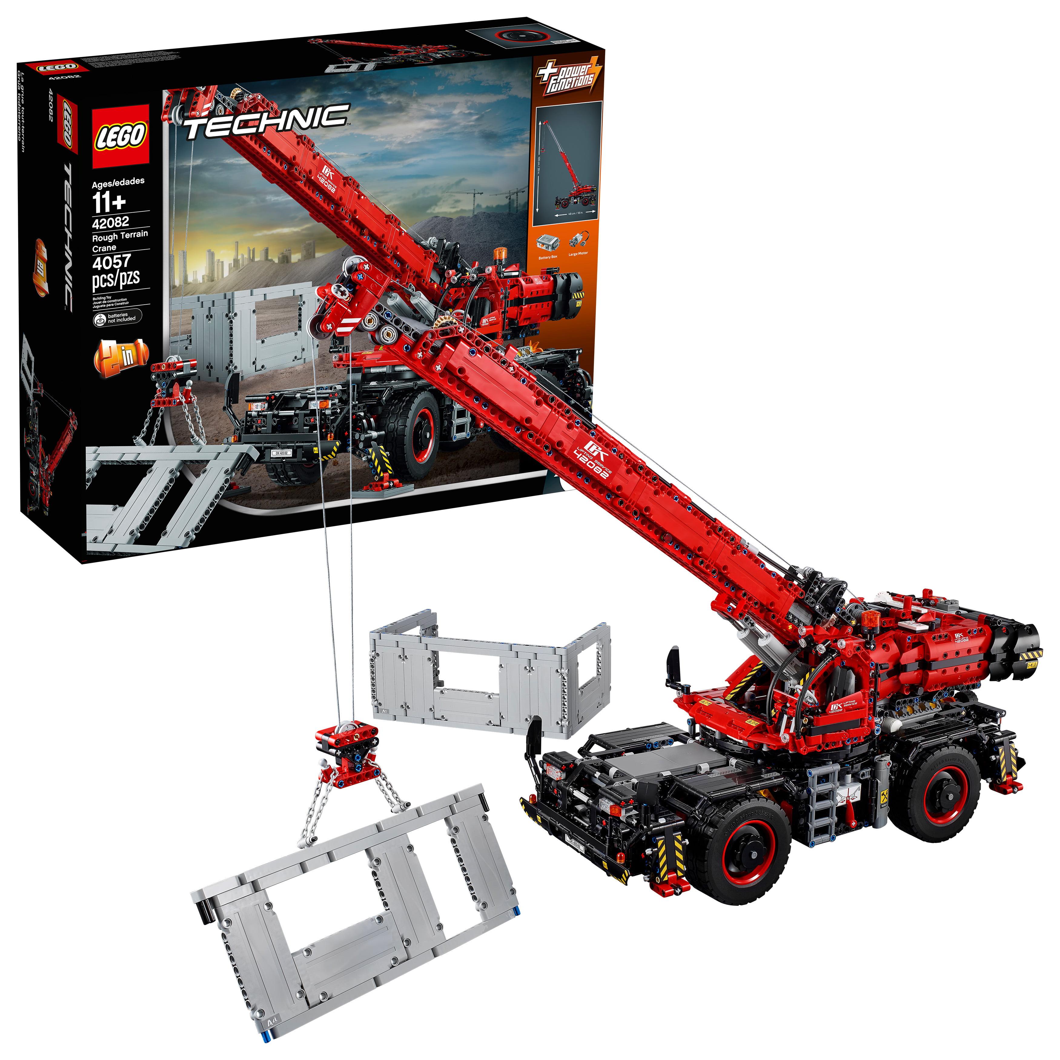 Lego Technic Rough Terrain Crane 42082 by LEGO System Inc
