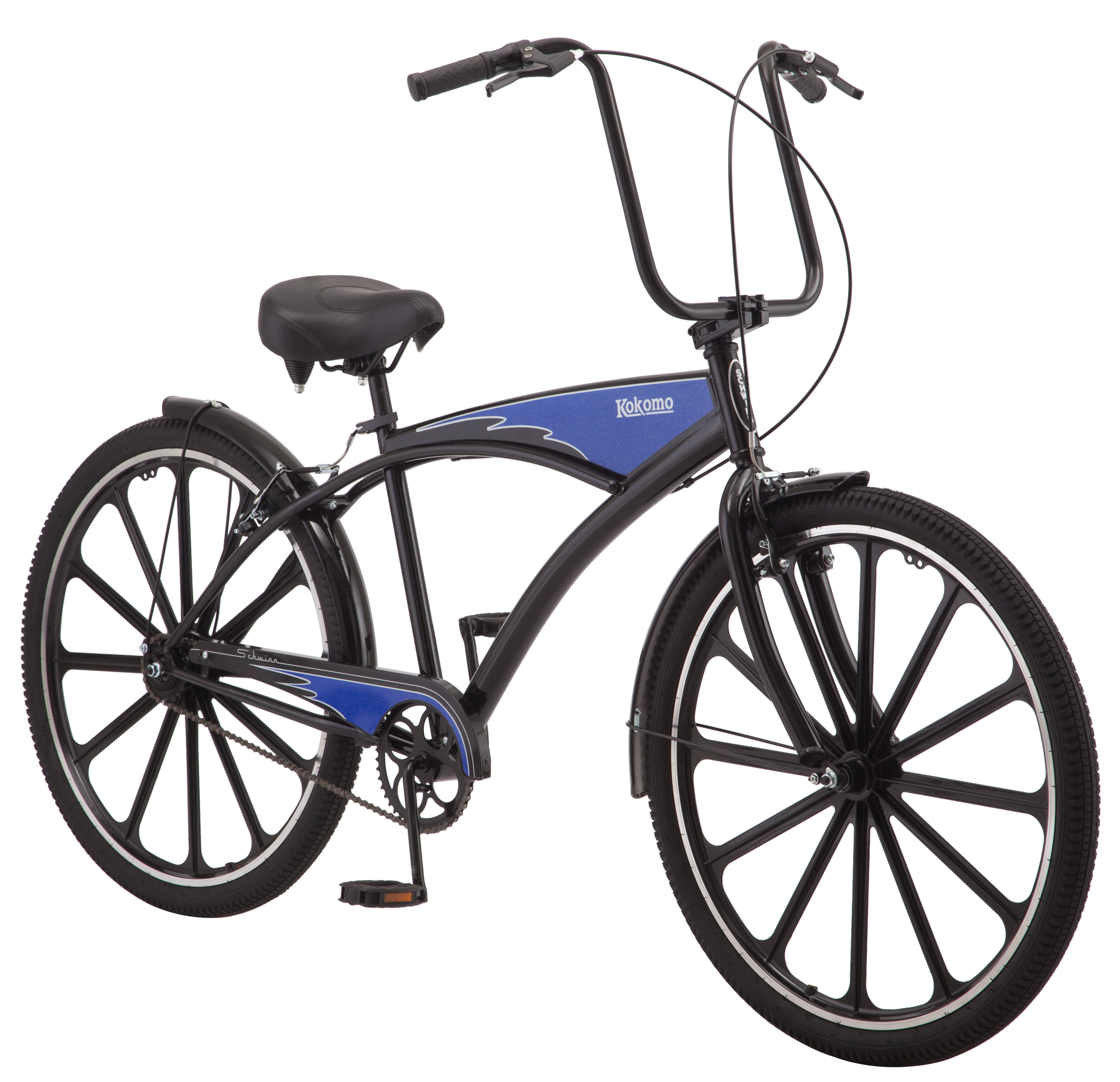 "27.5"" Schwinn Kokomo Men's Cruiser Bike, Black"
