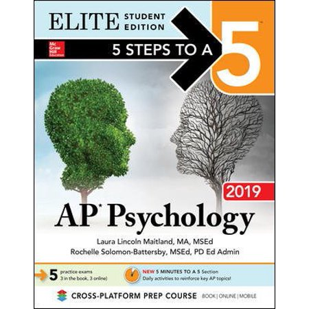 5 Steps to a 5: AP Psychology 2019 Elite Student