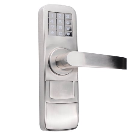 PS4008R Fully Programmable Electronic Mortise Style Door Lock with Keypad - Right Hand Swing Doors Door Design Led Keypad