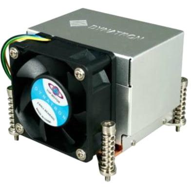 Dynatron K666 Dynatron K666 Cooling Fan/Heatsink - 1 x 60 mm - Dual Ball Bearing - Socket H2 LGA-1155, Socket H LGA-1156 Compatible Processor Socket - Aluminum/Copper - Retail