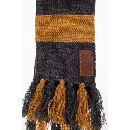 Fantastic Beasts Newt Hufflepuff Knit Scarf for Adults (Scary For Adults)
