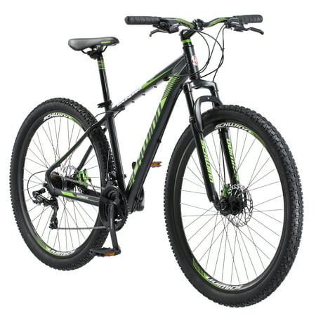 Schwinn Boundary Men's Mountain Bike, 29-inch wheels, Dark Green and
