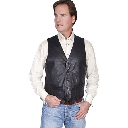 Men's Scully Lambskin Contemporary Vest 122