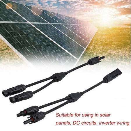 1/2/5 Pairs MC4 Y Branch Solar Panel 30A Cable Connector Solar Panel Cable  Adapter FFM MMF PV Wire T Splitter