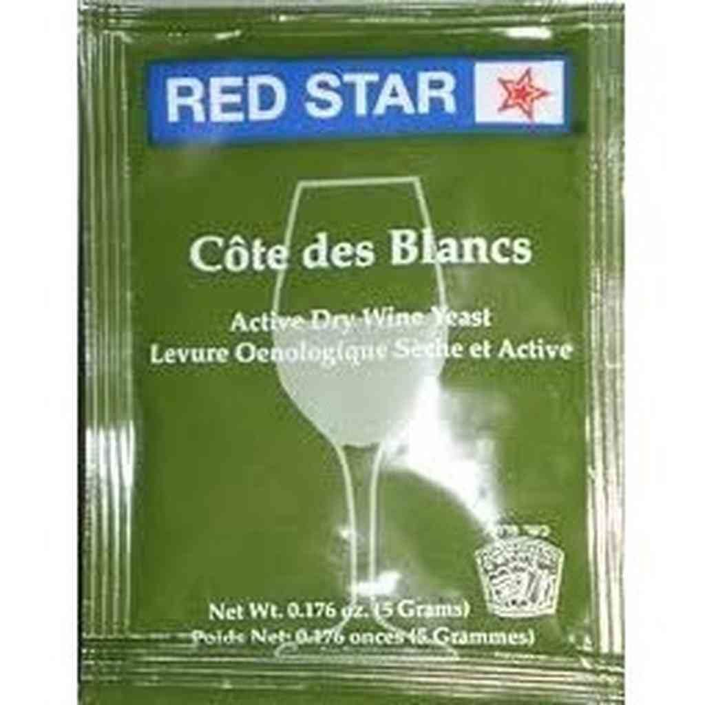 Red Star Cote de Blanc Wine Yeast 5 gm