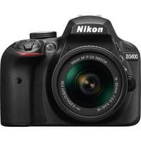 Nikon D3400 Digital SLR Camera with 24.2 Megapixels and 18-55mm Lens Included