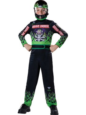 Boy's Monster Jam Grave Digger Halloween Costume